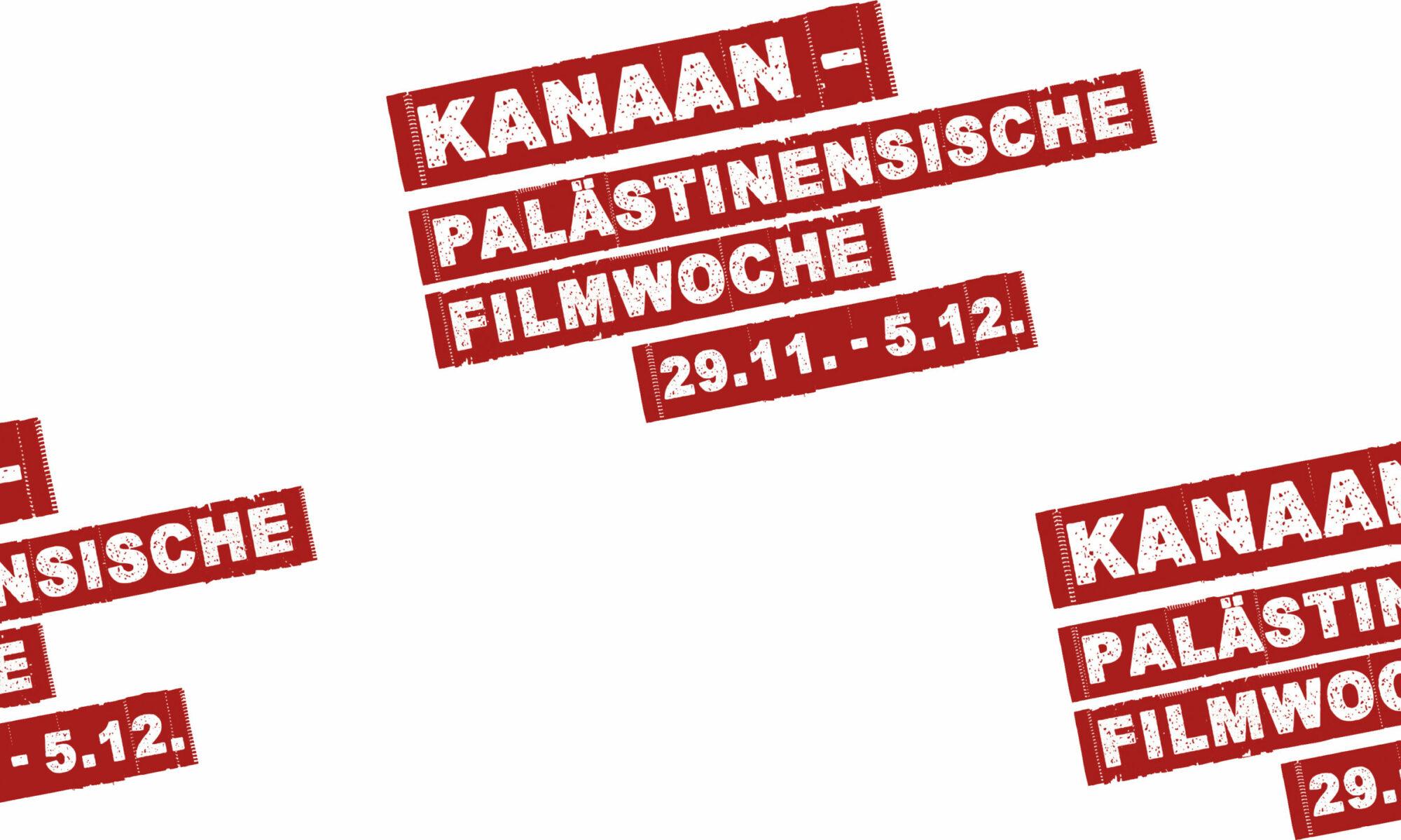 Palästinensische Filmwoche